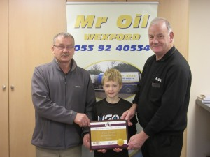 Mr Oil Athlete of the Month October 2015
